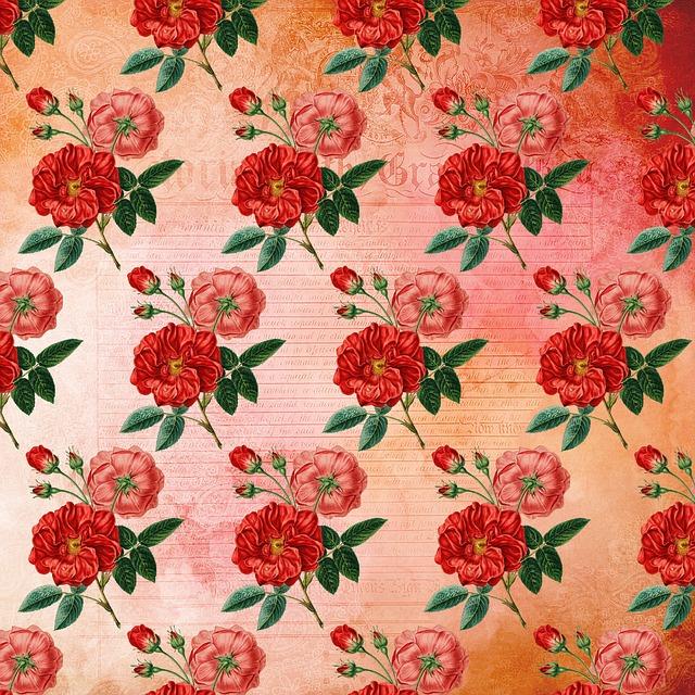 květinová tapeta