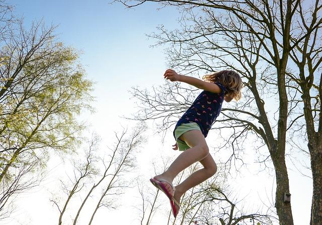 létající děvče