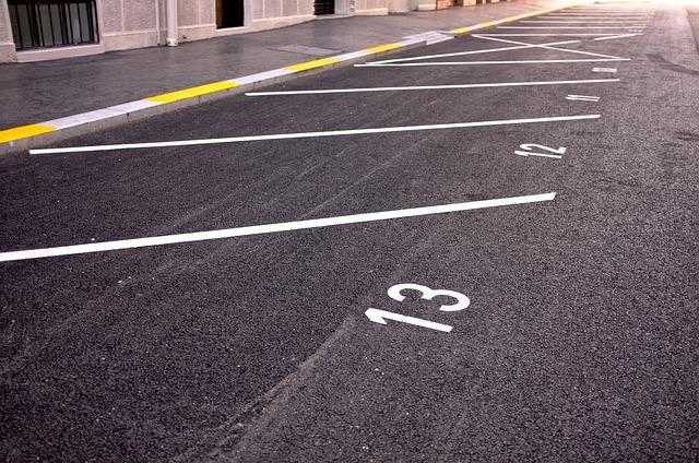 značení parkování