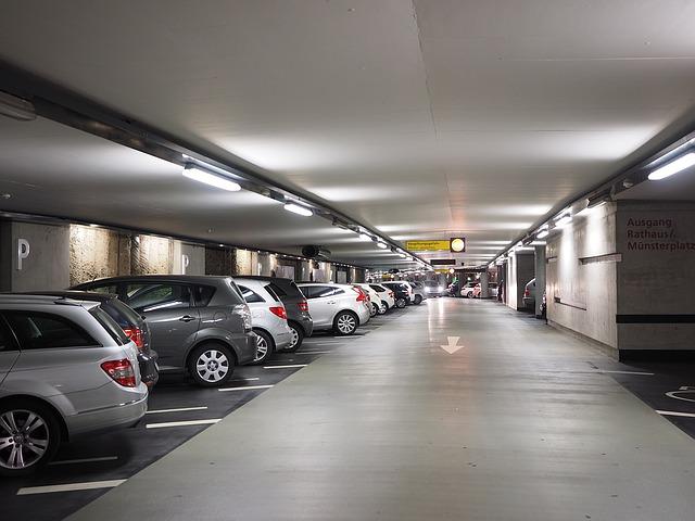 vícepodlažní parkoviště