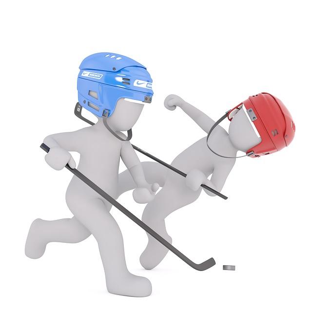 protihráči s hokejkou