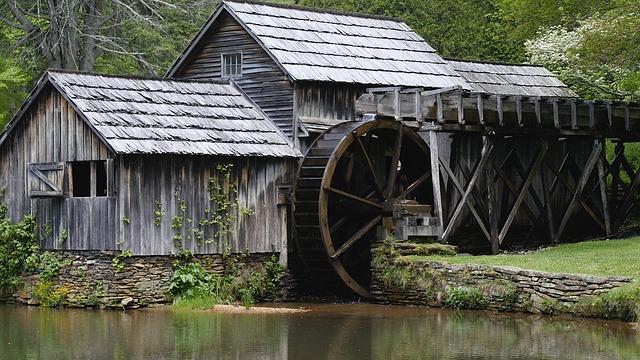 historický mlýn