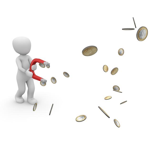 přitahování peněz
