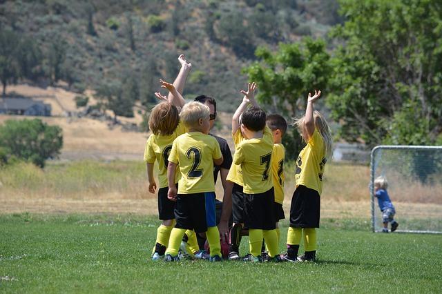děti na fotbale
