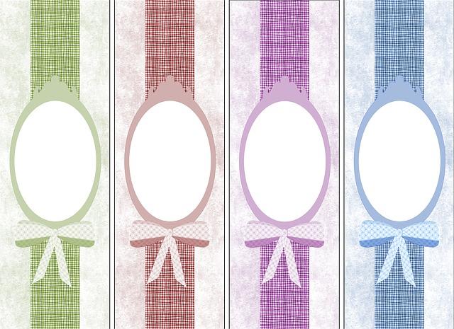 šablony štítků