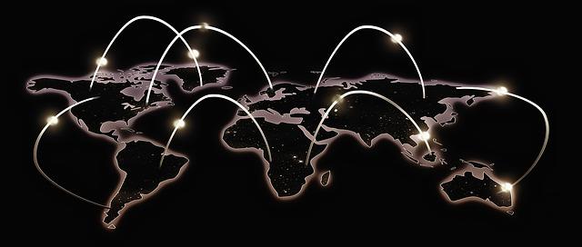 spojení světadílů